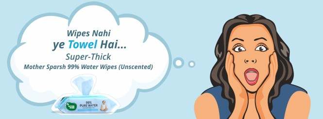 Have you heard Mother Sparsh has New Variant for Baby's Sensitive Skin?