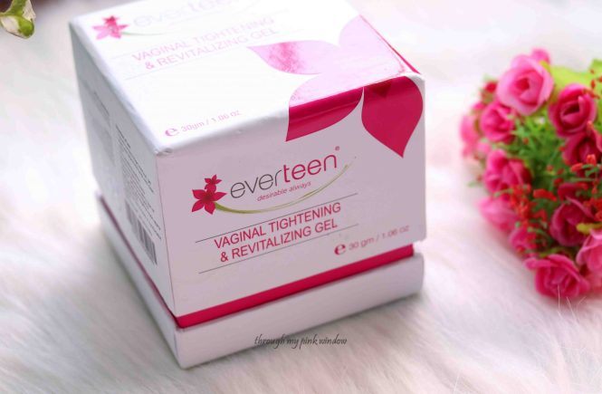 Everteen 100% Natural Vagina Tightening and Revitalizing Gel Review