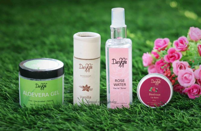 Organic Skincare Products Haul ft. Deyga