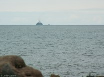 The ship on the horizon brought back one of my very earliest babyhood memories - of lying by the window gazing out to sea, on Island Magee, off Northern Ireland.