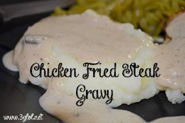 Chicken Fried Steak Gravy #gravy #gravyrecipe