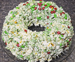 Christmas Popcorn Cake by 3glol.net