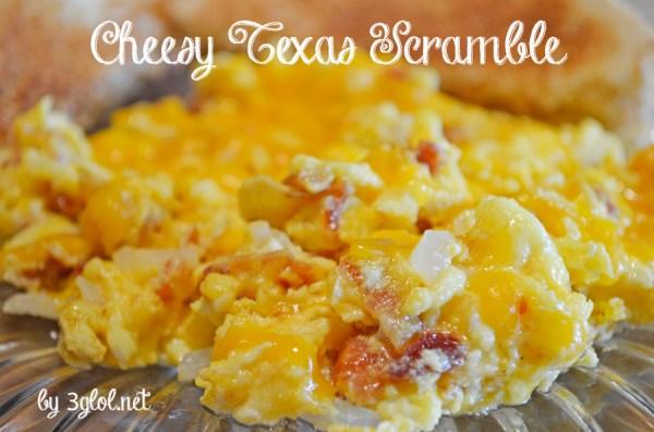 Cheesy Texas Scramble