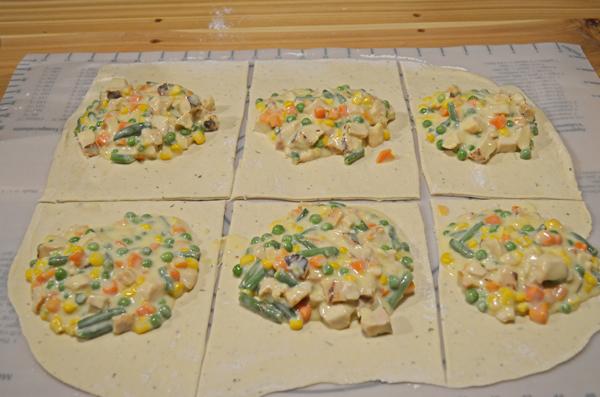 Chicken Pot Pie Pocket by 3glol.net