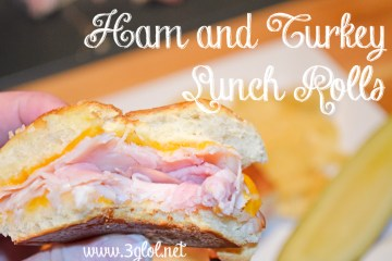 Ham and Turkey Lunch Rolls