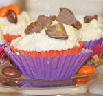 Chocolate Peanut Butter Cheesecake Cups by 3glol.net