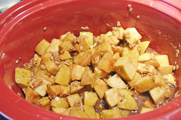 Slow Cooker Apple Crumb by 3glol.net