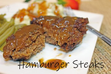 Hamburger Steaks