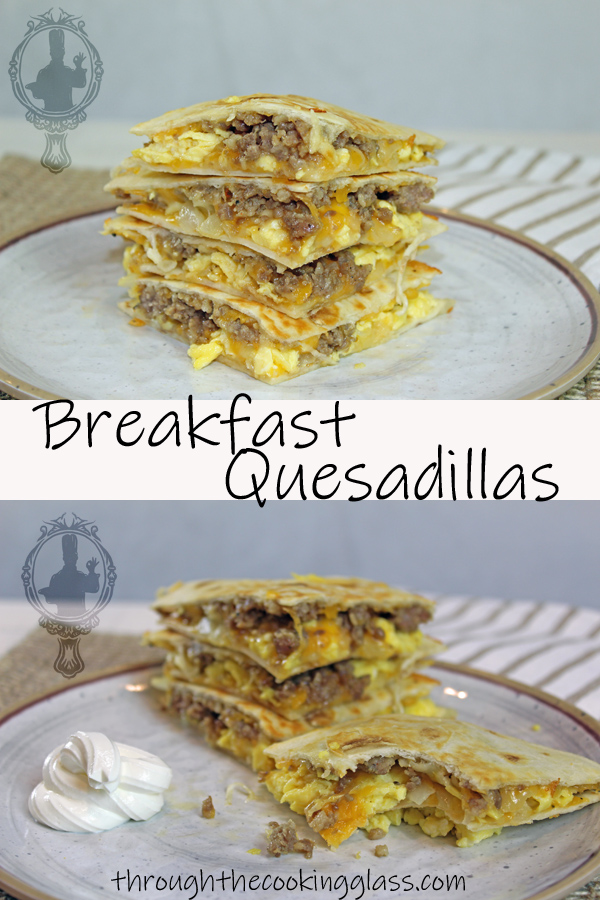 Breakfast Quesadillas Pin