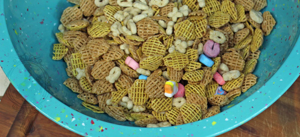 Lucky Charms and Crispix Cereal