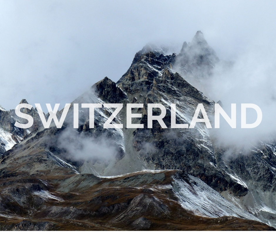 Switzerland Through The Iris Blog Portfolio Cover