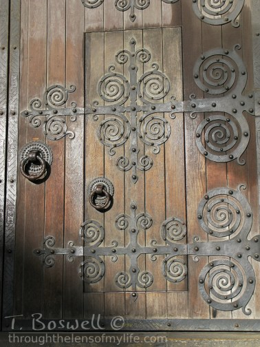 Doorway Lisbon Cathedral
