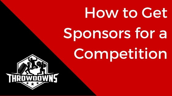 How to Get Sponsors for a Competition