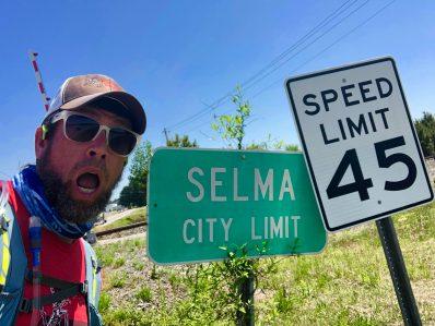 Selma City Limit. Slow Down!