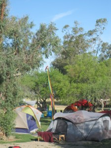 Some of the tents in the NeoTribal The Gathering Healing Garden Photo by me.