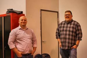 Matt Carter and Daryl Scott
