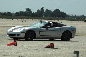 Dean's Corvette