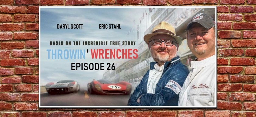 Throwin' Wrenches Ford v Ferrari Poster