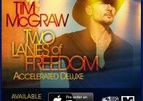 Tim McGraw - Two Lanes of Freedom promotional banner