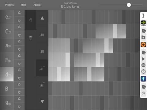 SoundPrism Electro main Interface. Image via Audanika