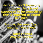 Anatomy of jazz discussion and a familiar shade of grey