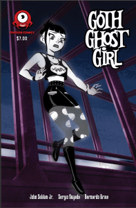 Goth Ghost Girl #1 Cover art