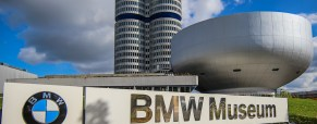 Touring the BMW Museum in Munich, Germany