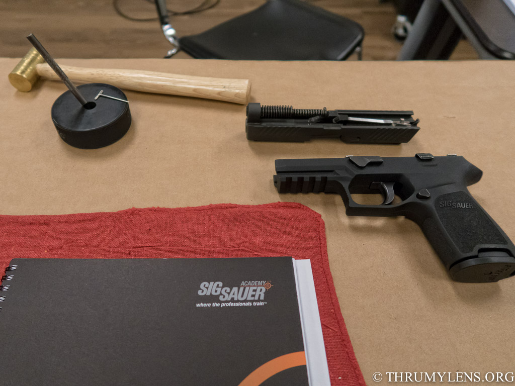 Review of the SIG P320 Armorers Course | ThruMyLens