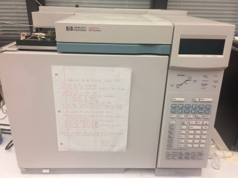 Hewlett Packard-GC 6890 with FID