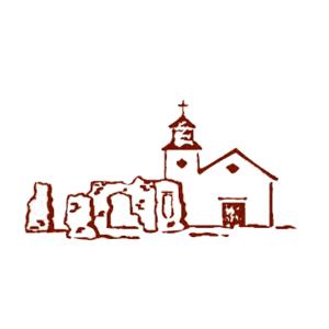 Tubac Historical Society Logo of Presidio and St. Ann's Church