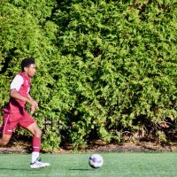 Carson De Marco hits season's end in stride