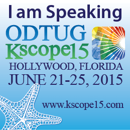 I am speaking (and swimming) at KScope15