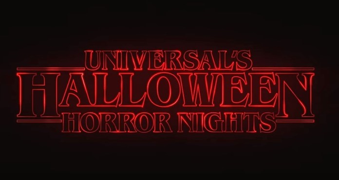 Halloween Horror Nights Stranger Things