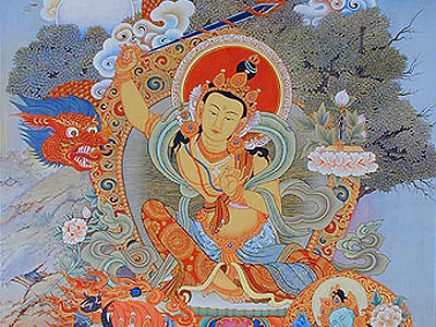 The purpose of the Manjushri practice