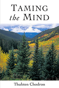 Cover of Venerable Chodron's book 'Taming the Mind'.