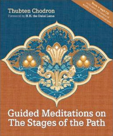 Cover of Guided Meditations on the Stages of the Path.