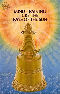 Cover of the book Mind Training like the Rays of the Sun.