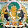 Thangka image of Manjushri