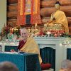 Venerable Chodron teaching.