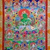 Thangka image of 21 Taras