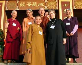 A group of nuns from the 2003 Nuns in the West program.