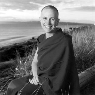 Portrait of Venerable Thubten Chodron