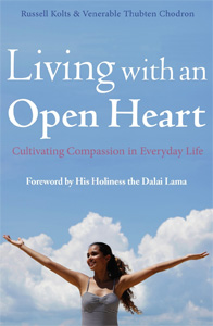 Cover of the book Living with an Open Heart.