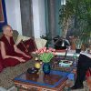 Venerable Chodron being interviewed by MORE Magazine.