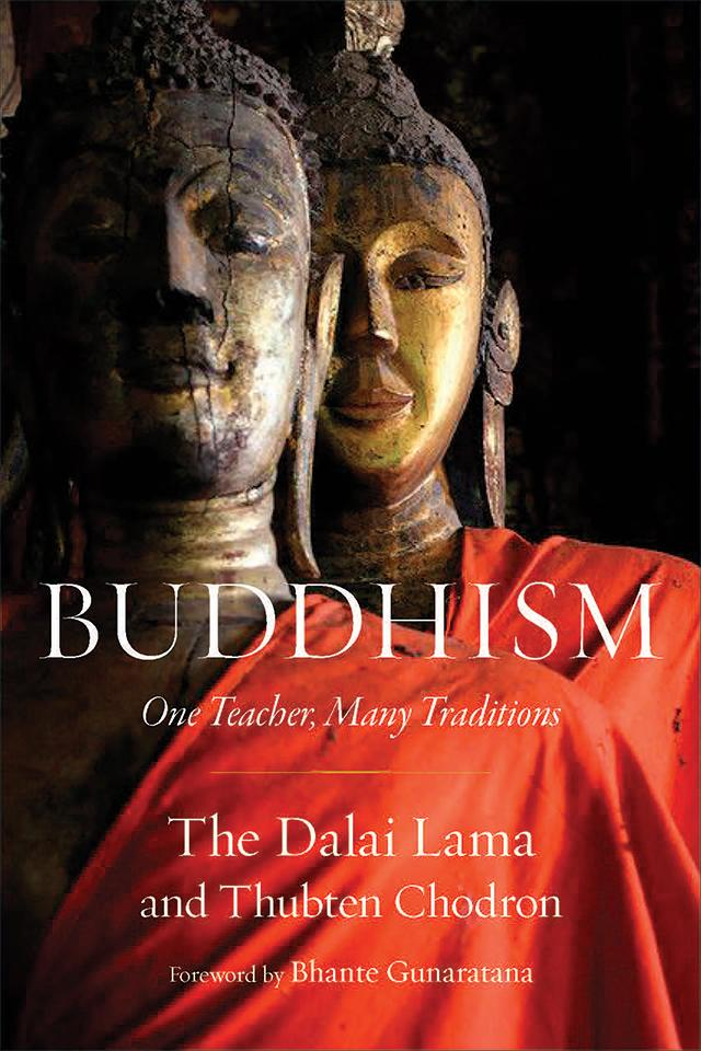 Cover of Buddhism: One Teacher, Many Traditions.
