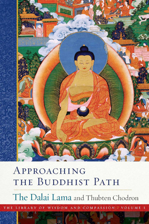 Cover of book Approaching the Buddhist Path.