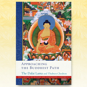 Cover of the book Approaching the Buddhist Path.