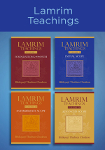 Compilation of Lamrim book covers