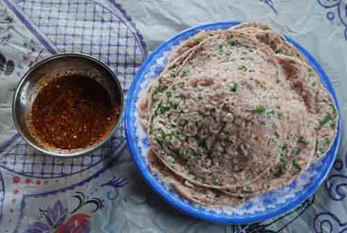 Bánh xeo gạo lứt