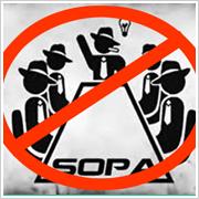 SOPA: El Proyecto de Ley de la Lista Negra en Internet [infografía]